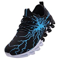 BRONAX Mens Fashion Graffiti Personality Trainers