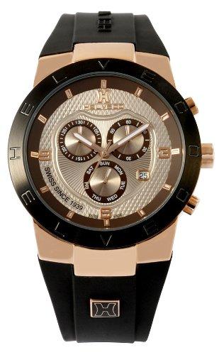 Helveco H01812IIM - Reloj, correa de goma color negro