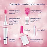 Honestystore® Sweet Sensitive Touch Electric Trimmer for Women Eyebrow Bikini Trimmer (Hair Removal)