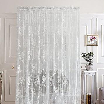 R. lang slot top tende per soggiorno bellissimo fiore tende in ...