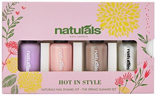 Naturals Nail Enamel kit - Hot in style SS3