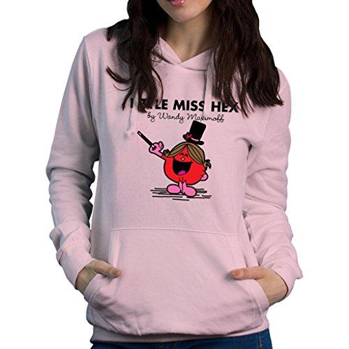 TeeTrumpet Little Miss Hex by Wandy Maximoff Scarlet Witch Women's Hooded Sweatshirt (Witch Und Scarlet Quicksilver)