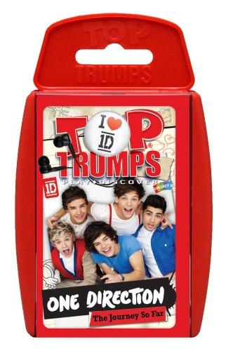Preisvergleich Produktbild Top Trumps One Direction Karten Spiel [UK Import]
