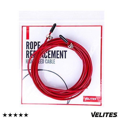 #1 Cable de Repuesto para Comba Rojo de 2.5 mm de Diámetro...