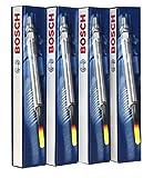 Lot de 4 Bougies de Préchauffage Bosch, 0250212009