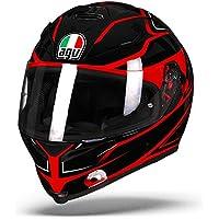 AGV K5-S Magnitude Noir/Rouge Moto Casque