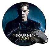 The Bourne Identity Matt Damon Mauspad Round Mousepad PC