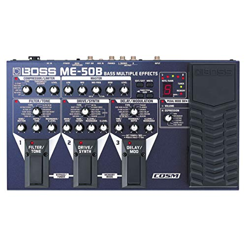 Boss ME-50B Bass - Aparato de efectos múltiple