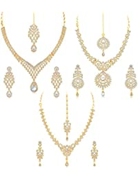 Sukkhi Gold Plated Jewellery Set for Women (CB73396)