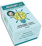 La Memory box - 400 flashcards + 1 livret, la meilleure méthode pour tout retenir