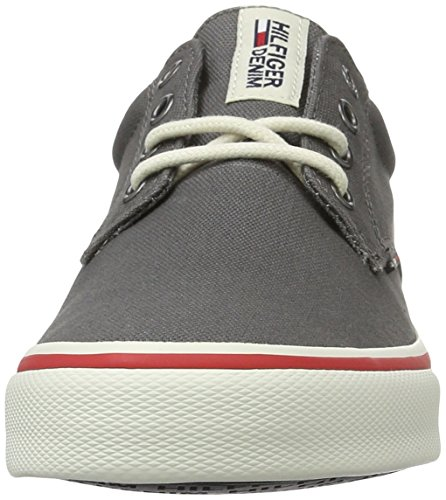 Tommy Hilfiger Herren V2385ic 1d Low-Top Grau (Steel Grey 039)