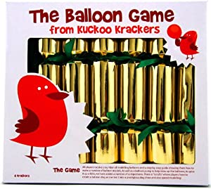 6 Balloon Game Christmas Crackers from Kuckoo Krackers