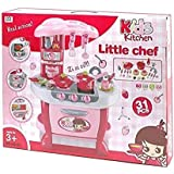 Crazy Toys Latest Little Chef Kids Kitchen Play Set With Light & Sound