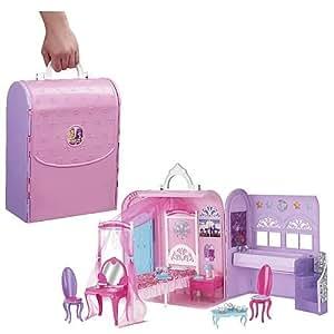 Barbie x3706 poup e chambre magique 2 en 1 princesse et popstar jeux et jouets - Jeux de barbie popstar ...