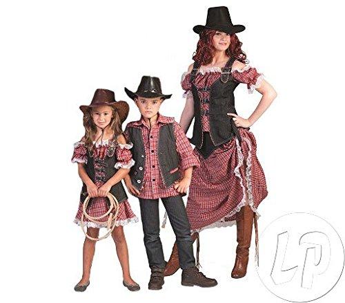 Cowgirl Nathalie Kostüm für Damen Gr. 48 50 - Tolles Wild West - Wild West Cowgirl Kostüm