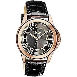 D&G Dolce&Gabbana - DW0628 - Montre Homme - Quartz Analogique - Bracelet Noir