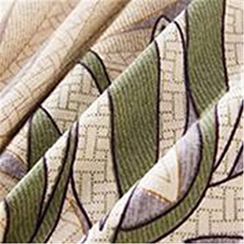 CHLCH Cubierta de colchón rellena Cubre colchón de Fibra, Impermeable, a Prueba de Polvo,Estampado púrpura180 * 200 * 30 cm