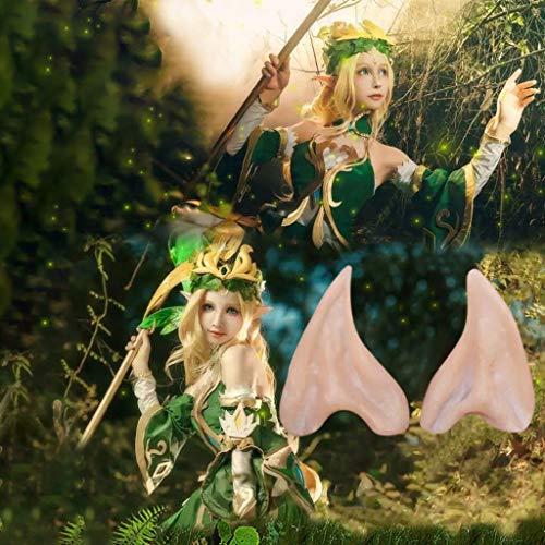 TianranRT Oreja de Elfo,Orejas de Elfo Creativas E Interesantes Orejas de Látex...