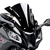 Racingscheibe Puig Kawasaki ZX10R 2011-2015 tief schwarz Verkleidungsscheibe