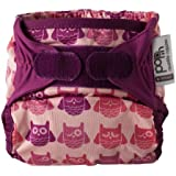 Close Pop-In + Owl Bamboo Single Nappy (30 Months, Multicoloured)
