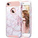 ULAK iPhone 7 Case, Colorful Series Slim Hybrid Dual Layer