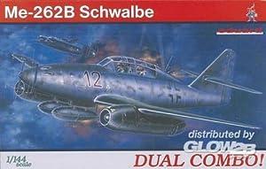 Eduard Plastic Kits 4421 - Swallow Me-262B Combo Doble Importado de Alemania