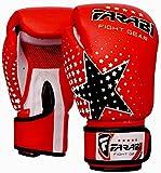Farabi série pour enfants Starlux gants d'entraînement pour sac de frappe à la boxe MMA kick-boxing Muay Thaï