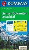 Lienzer Dolomiten, Lesachtal: Wanderkarten / Rad / Skitouren. GPS-geeignet