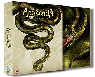 Anaconda 1-4 (Boxset) [Blu-ray]