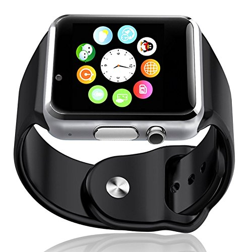 Elv E LV High Quality Touch Screen Bluetooth Smart Wrist Watch with Camera
