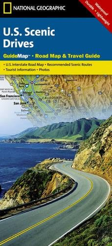 USA Scenic Drives State Guide Map Ng R: NG.GM40.00620510 (National Geographic GuideMaps)