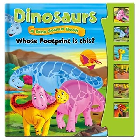 Dinosaurs, Dino Sound Book - Whose Footprint is This?: Story Sound Book (Sound Books)
