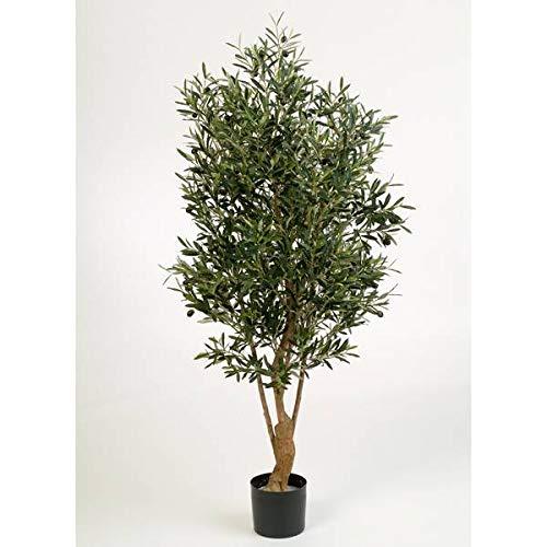 artplants.de Deko Olivenbaum, 3432 Blätter, 150cm - künstlicher Baum - Olivenbaum künstlich
