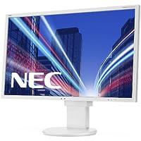 NEC EA224WMI 55,9 cm (22 Zoll) widescreen TFT-Monitor (LED, DVI, VGA, HDMI, 14ms Reaktionszeit) weiß