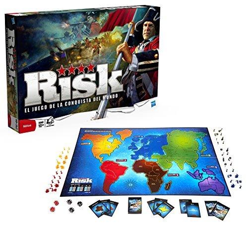 Hasbro Gaming   Juego de estrategia Risk (28720105) (versión española)