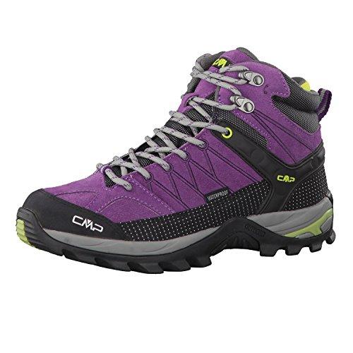 CMP Rigel Mid Wmn Trekking Shoes WP B.Blue-Giada-Peach - 41