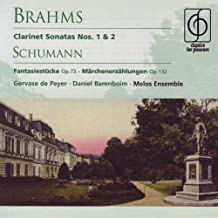 Brahms; Schumann - Works for Clarinet and Piano
