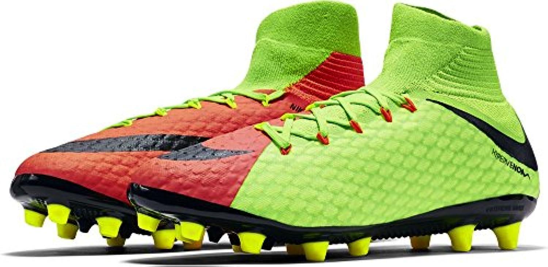 Nike - Botas de fútbol de Material Sintético para hombre ELECTRIC GREEN/BLACK