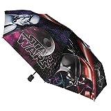 Die besten Verschiedene von Fernsehen und Filme - Disney Star Wars Faltbarer Regenschirm, 48cm, Verschiedene Farben Bewertungen