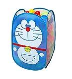 Koenig-Tom 200 Bälle Ball Bällebad Babybälle + Aufbewahrungs Korb Klappkorb Katze