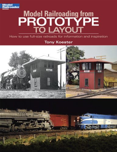 Model Railroading from Prototype to Layout: How to Use Full-Size Railroads for Information and Inspiration (Model Railroader) por Tony Koester