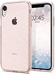 Spigen iPhone XR Liquid Crystal GLITTER cover/case - Crystal Quartz