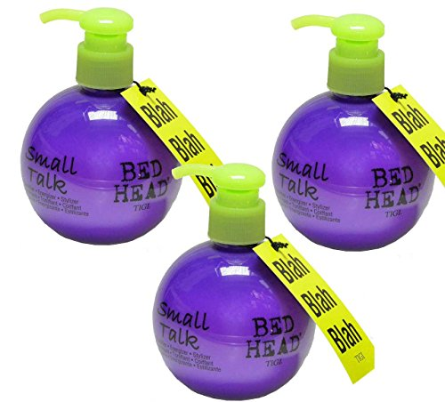 TIGI Bed Head Small Talk 200ml x 3 PIECES Thickening and Volumizing
