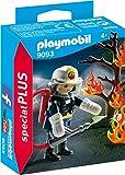 Playmobil Especiales Plus Bombero con Árbol en Llamas, (9093)