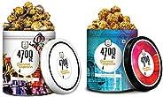 4700 BC Tiramisu Popcornand Himalayan Salt Caramel Popcorn,125g + 110g