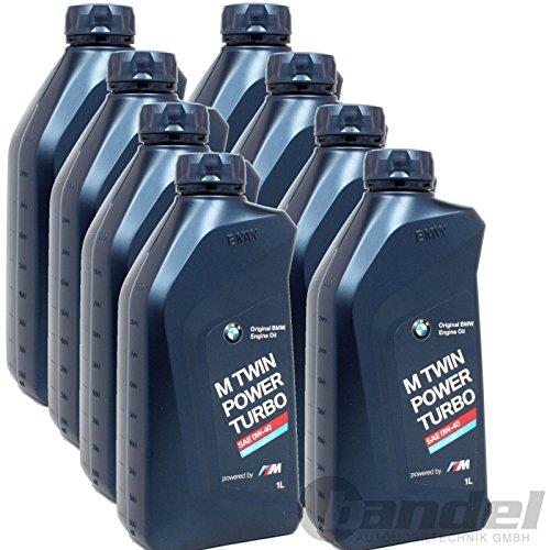 BMW 83 21 2 365 925-8 M TwinPower Turbo Motoröl LL-01 0W40 (8 x 1 Liter)