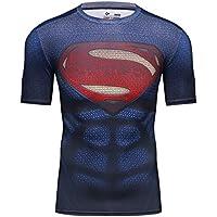Cody Lundin stretto stampato eroe logo cime degli uomini aleeve breve t-shirt bodybuilding uomo t-shirt (Stampato Body)