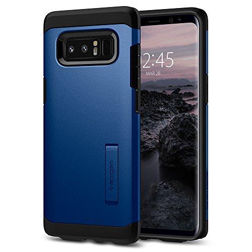Spigen [Tough Armor Kompatibel mit Samsung Galaxy Note 8 Hülle (587CS22083) Doppelte Schutzschicht Extrem Fallschutz Schutzhülle Case Deepsea Blue