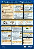 Wandtafel Gefahrgutversandstücke richtig kennzeichnen