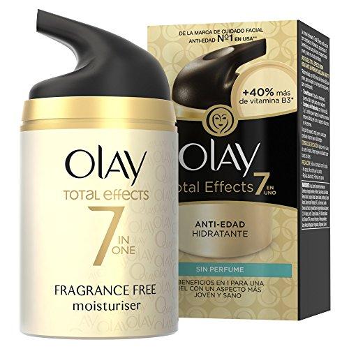 Olay Total Effects 7 en 1 Crema Hidratante Anti-Edad sin Perfume - 50ml